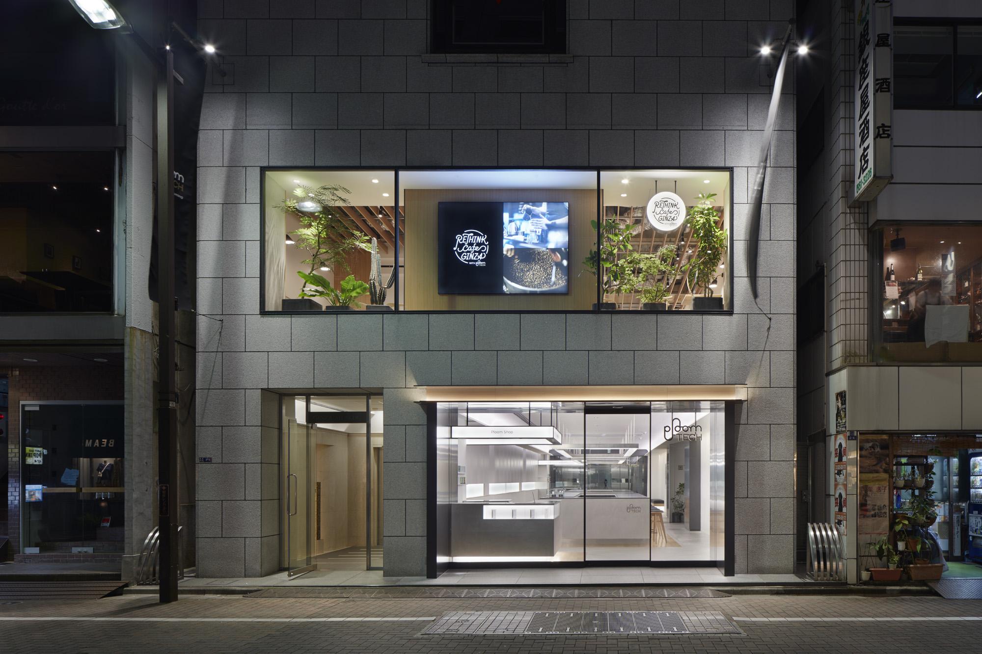 Ploom Shopの店舗例(銀座店)